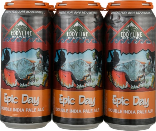 Eddyline Epic Day Double India Pale Ale Perspective: front