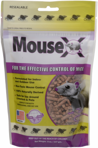 EcoClear Products Inc. MouseX Rodent Control Pellets Perspective: front