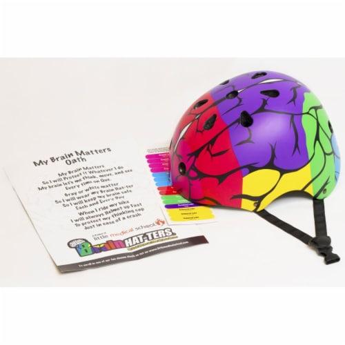 Little Medical School BHM31 Brain Hat-ter Helmet, Medium Perspective: front
