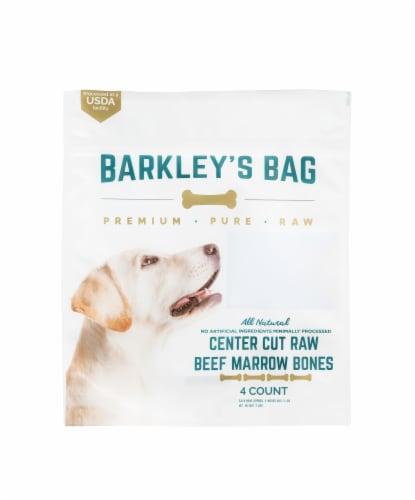 Barkley's Bag Center Cut Beef Marrow Bones Perspective: front