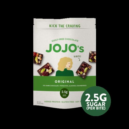 JOJO's Original Guilt-Free Chocolate Bites Perspective: front