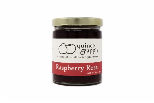 Quince & Apple Raspberry Rose Preserves Perspective: front