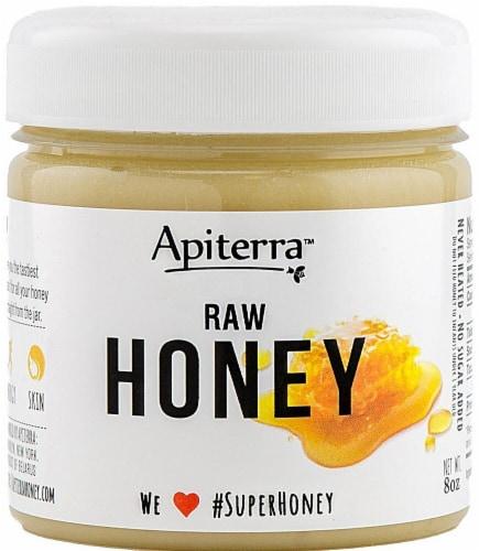 Apiterra Original Raw Honey Perspective: front