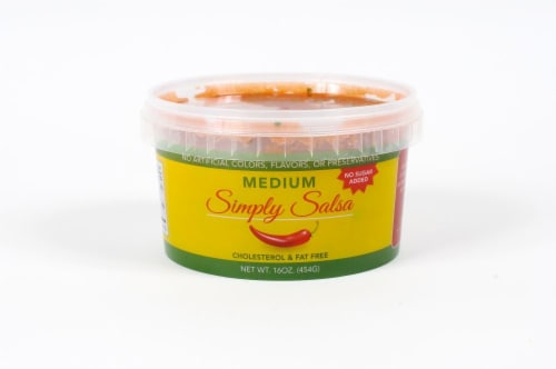 Simply Salsa Medium Perspective: front