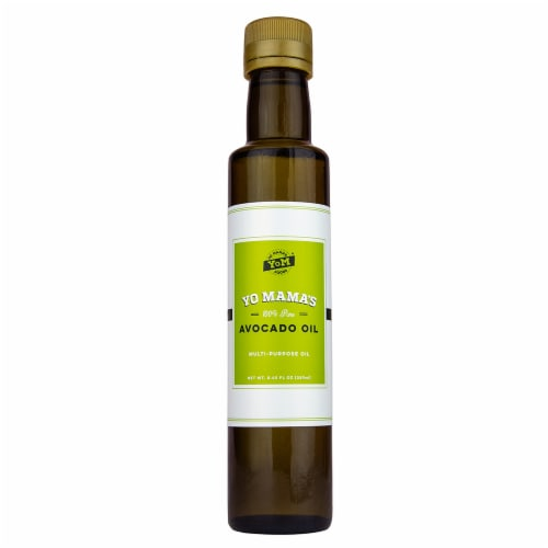 Yo Mama's Foods 100% Pure Avocado Oil Perspective: front