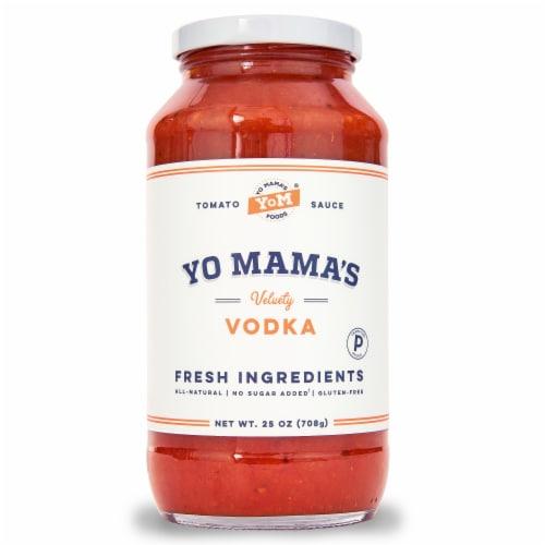 Yo Mama's Foods Velvety Vodka Tomato Sauce Perspective: front
