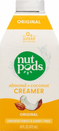 nutpods Original Unsweetened Almond + Coconut Creamer Perspective: front