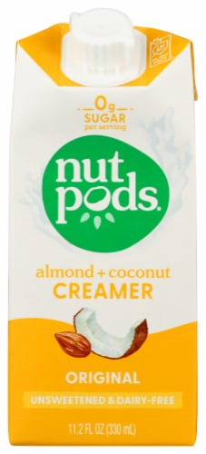 Nutpods  Non-Dairy Creamer Unsweetened   Original Perspective: front
