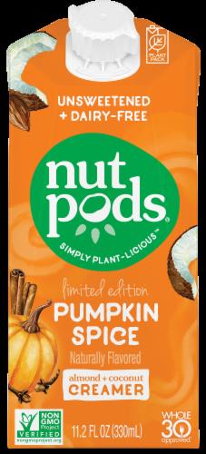 Nutpods Pumpkin Spice Coffee Creamer Perspective: front