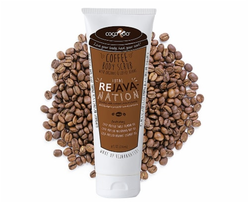 CocoRoo  Total ReJavanation Coffee Body Scrub Perspective: front