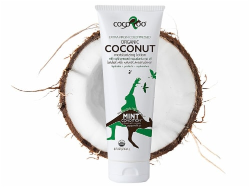 CocoRoo  Mint Condition Organic Coconut Moisturizing Lotion Perspective: front