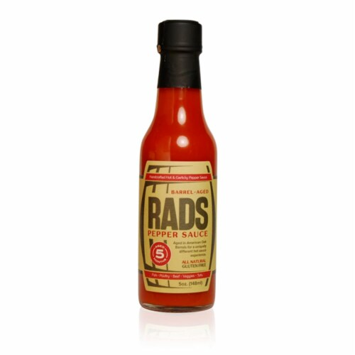 Crown Pacific Fine Foods RADS Reserve Pepper Hot Sauce Perspective: front