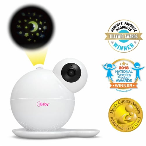 iBaby M7 Smart Wi-Fi Enabled Total Baby Care System Perspective: front
