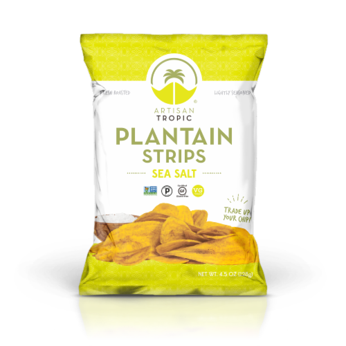 Artisan Tropic Sea Salt Plantain Strips Perspective: front