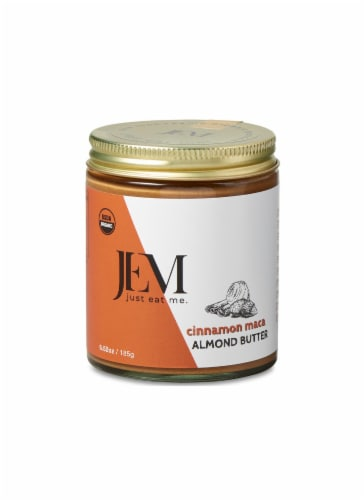 Jem Raw Cinnamon Maca Almond Butter Perspective: front