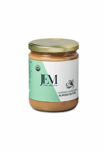 Jem Raw Cashew Cardamom Almond Butter Perspective: front