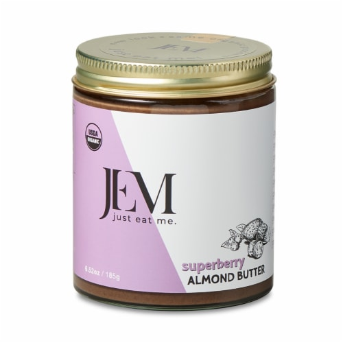 Jem Raw Superberry Almond Butter Perspective: front