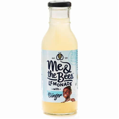 Me & The Bees Ginger Lemonade Perspective: front