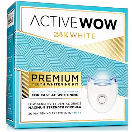 Active Wow 24K Premium Teeth Whitening Kit Perspective: front