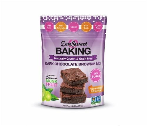 ZenSweet Baking Dark Chocolate Brownie Mix Perspective: front