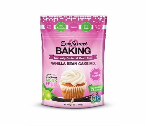 ZenSweet Baking Vanilla Bean Cake Mix Perspective: front
