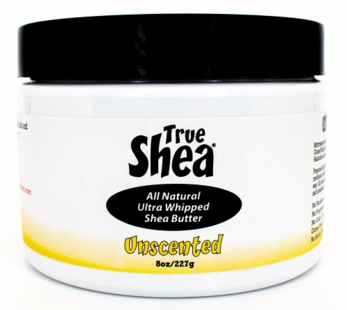 True Shea Unscented Ultra Whipped Shea Butter Moisturizer Perspective: front