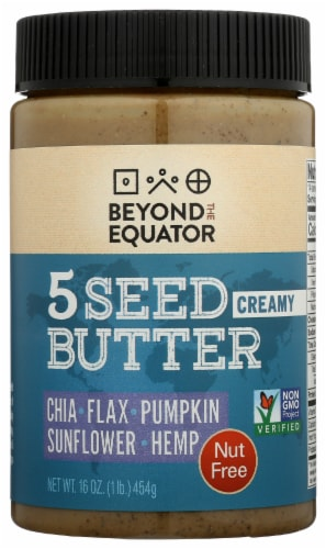 Beyond the Equator Gourmet 5 Seed Butter Perspective: front
