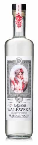 The Countess Walewska Vodka Perspective: front