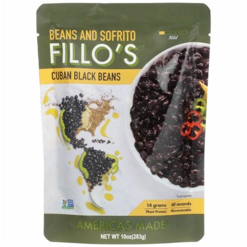FILLO'S Cuban Black Beans Perspective: front