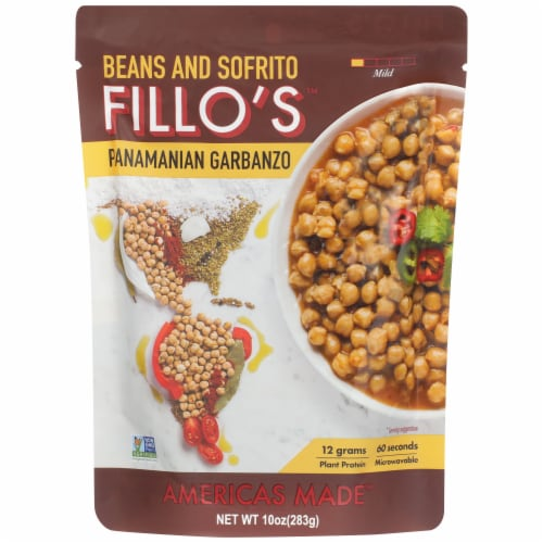 FILLO's Panamanian Garbanzo Beans Perspective: front