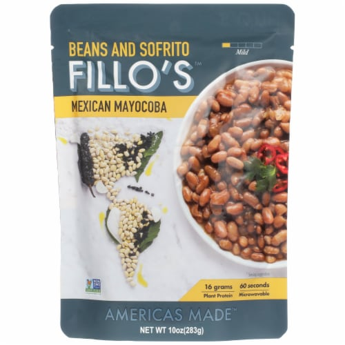 FILLO's Mexican Mayocoba Beans Perspective: front