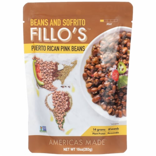FILLO'S Puerto Rican Pink Beans Perspective: front