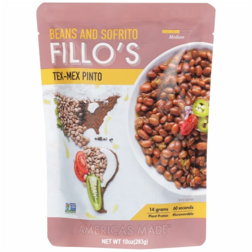 FILLO'S Tex-Mex Pinto Beans Perspective: front