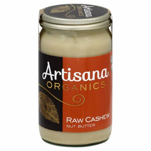 Artisana Organics Raw Cashew Nut Butter Perspective: front