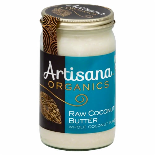 Artisana Organics Raw Coconut Butter Perspective: front