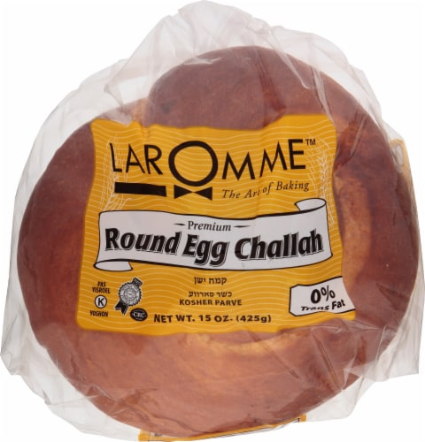 Laromme Round Egg Challah Perspective: front