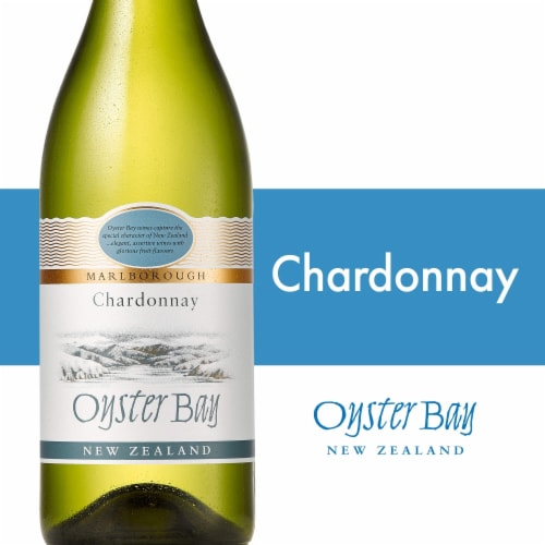 Oyster Bay Marlborough Chardonnay Perspective: front