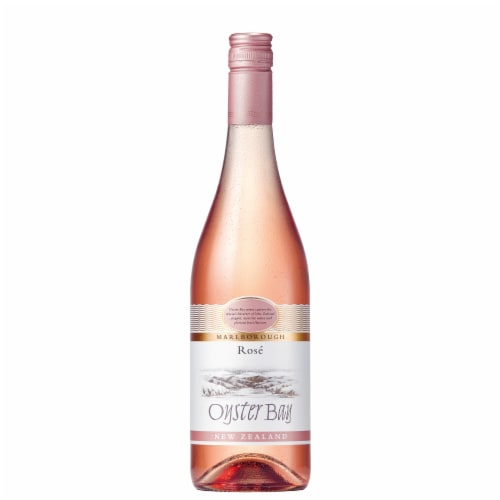 Oyster Bay Malborough Rose Wine Perspective: front