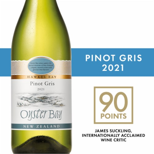 Oyster Bay Hawke's Bay Pinot Gris Perspective: front