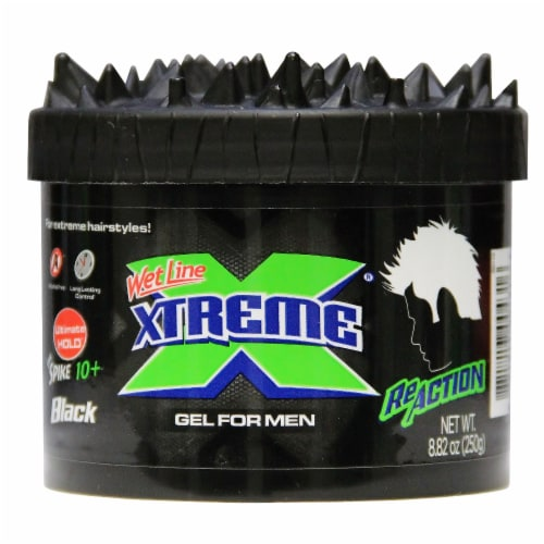 Wet Line Xtreme ReAction Wet Line Hair Gel for Men Perspective: front