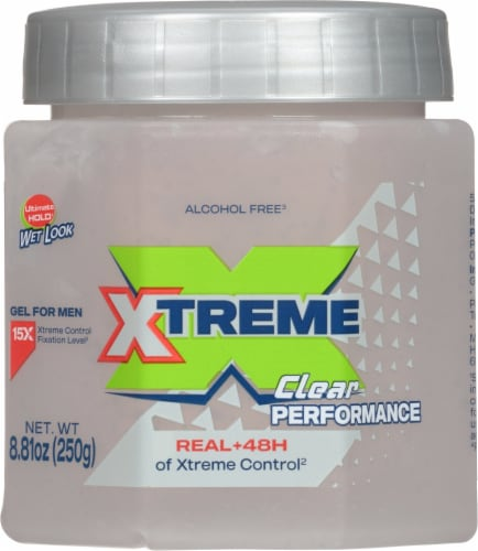 Wet Line Xtreme Clear ReAction Styling Gel Perspective: front