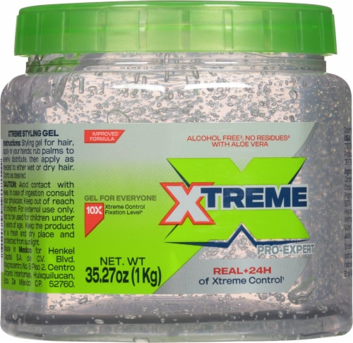 Wet Line Xtreme Professional Clear Extra Hold Styling Gel Perspective: front