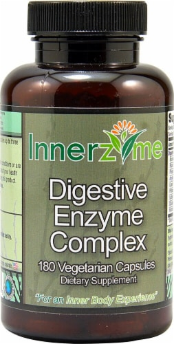 Innerzyme  Digestive Enzyme Complex Perspective: front
