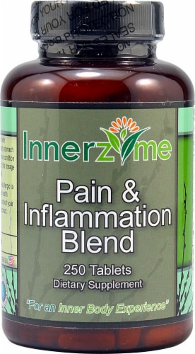 Innerzyme  Pain & Inflammation Blend Perspective: front