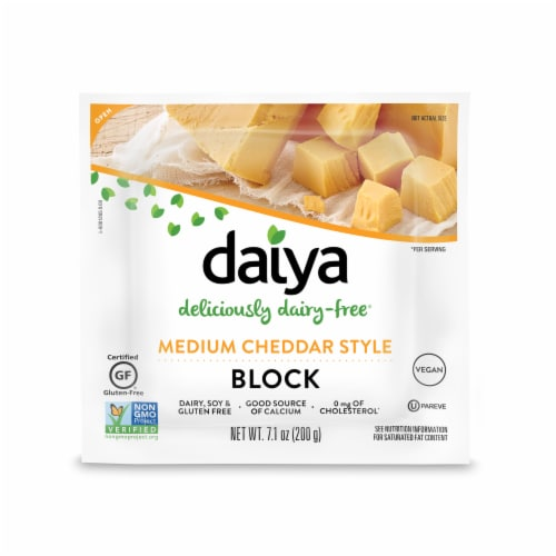 Daiya Cheddar Style Wedge Perspective: front