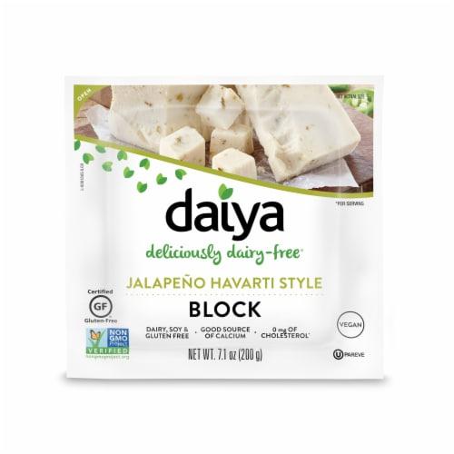 Daiya Jalapeno Havarti Style Block Perspective: front