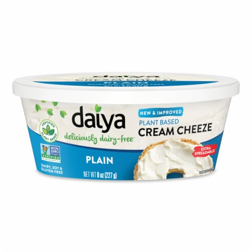 Daiya Dairy Free Plain Cream Cheese Style Spread Perspective: front