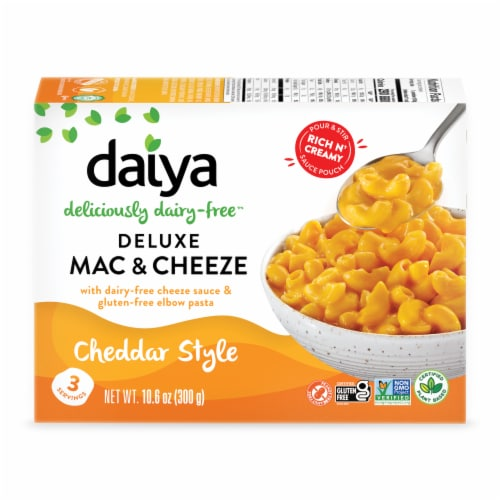 Daiya Deluxe Cheddar Style Cheezy Mac Perspective: front