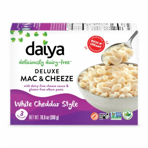 Daiya Deluxe White Cheddar Style Veggie Cheezy Mac Perspective: front