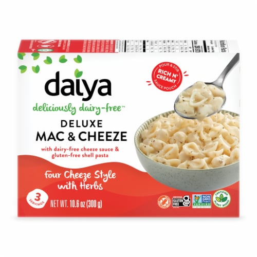 Daiya Four Cheese Style with Herbs Deluxe Cheezy Mac Perspective: front